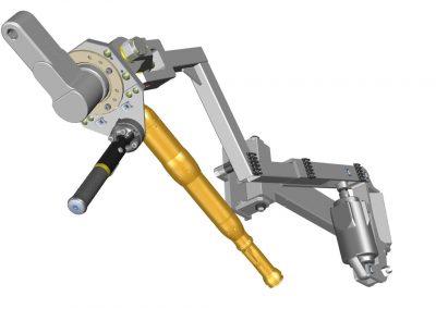 1-Kanal-Schrauber mit Lazy-Arm, 3-Arm