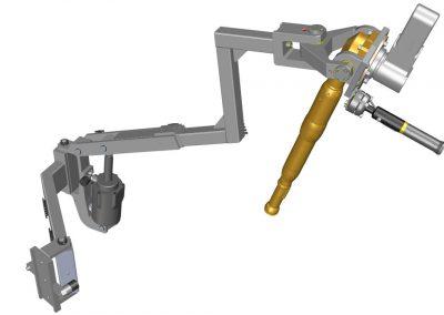 Handling für schraubtechnische Anwendungen. Lazy-Arm